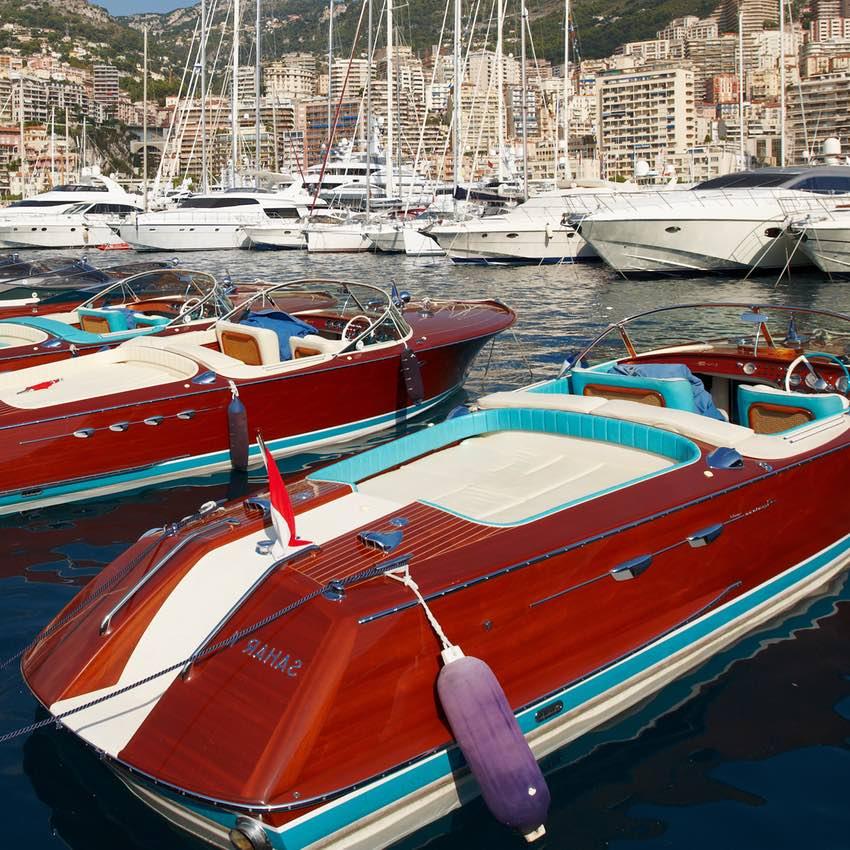 history Riva motorboat